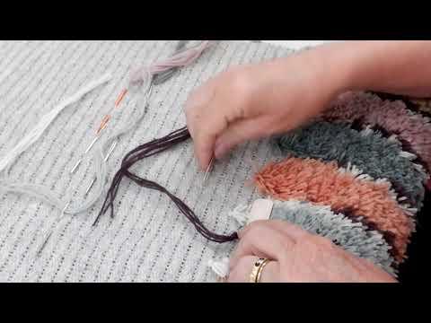 How to Stitch a Rya Rug