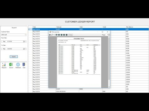 Whole Sale, Retail Point Of Sale And General Ledger Software In C#