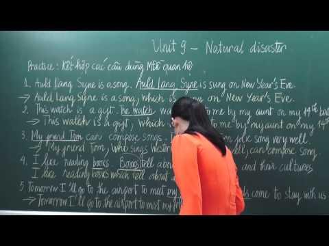 [Hocmai.vn] Tiếng Anh lớp 9 - Natural disaster  - Cô Nguyễn Thị Bích Liên