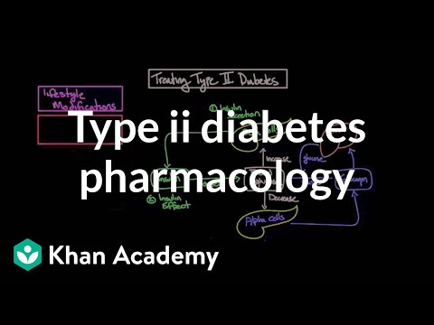 Treating type II diabetes - Pharmacology