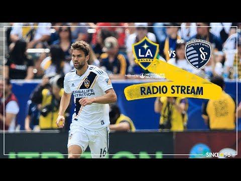 LA Galaxy vs Sporting KC | Radio Livestream