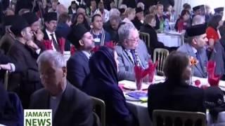 Urdu Report: New Islam Ahmadiyya Noor Mosque Crawley UK (18 January 2014)