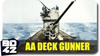 HMS Marulken ► Submarine Deck Gunner (Round Highlight)
