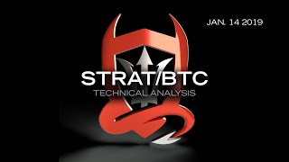 Stratis Technical Analysis (STRAT/BTC) : Forcing a Trade...  [01.14.2019]