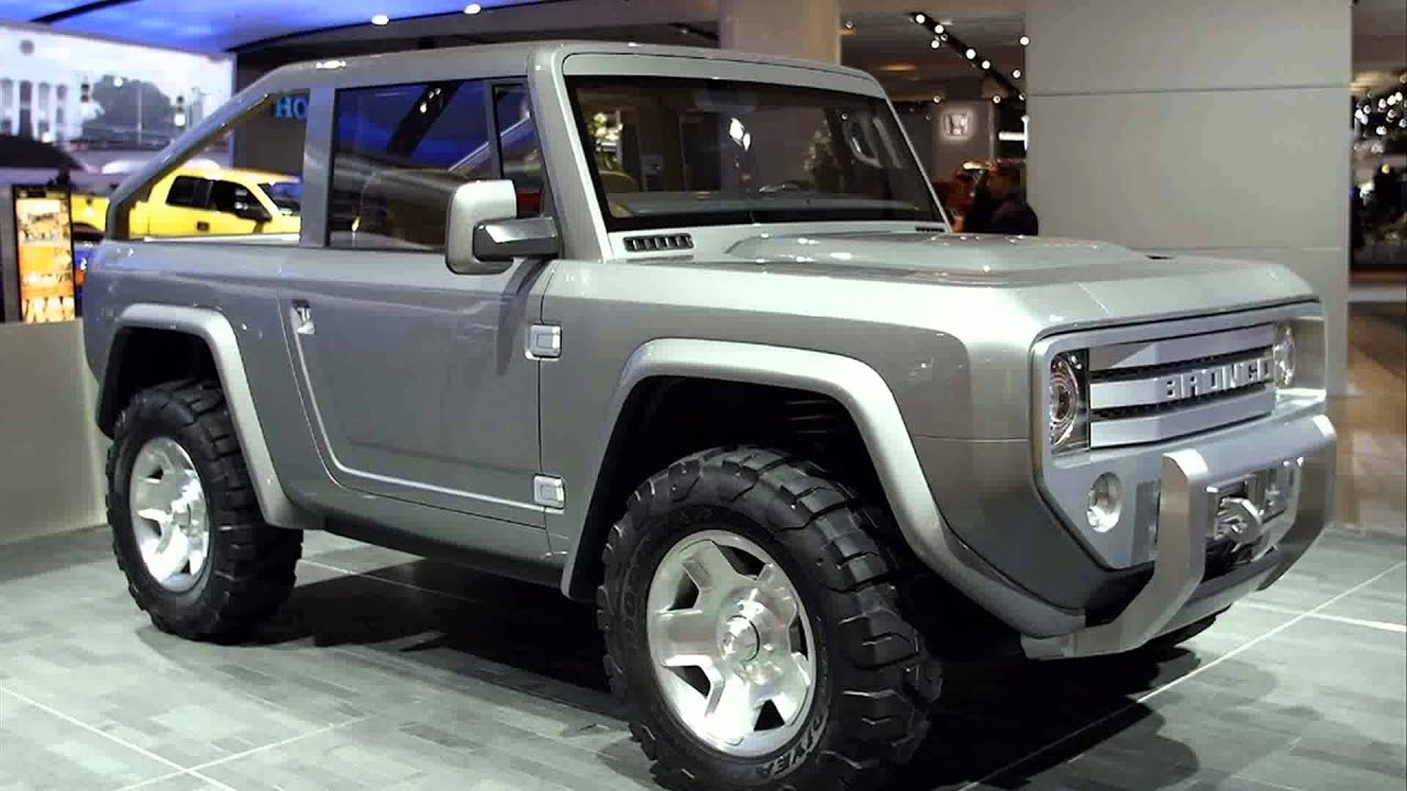Ford Bronco 2020 4 Door >> 2015 model ford bronco - YouTube