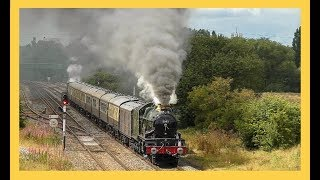 Monarchs Of The Mainline - U.K Steam Train Review 2017