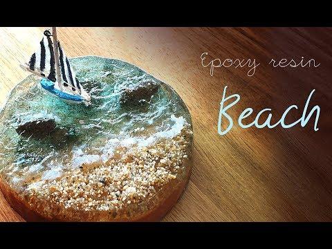 how to make beach wave. DIY/ RESIN ART