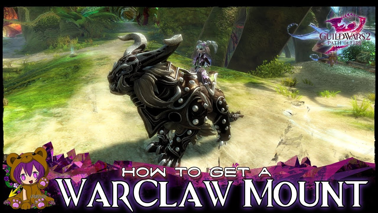 GW2 - How to get a Warclaw Mount