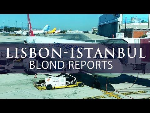 TURKISH AIRLINES Lisbon Istanbul Economy TK1760 Trip Report Economy