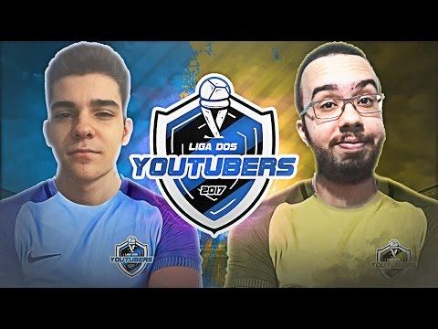 CAMPOS vs LUDGERO - LIGA DOS YOUTUBERS 2017!! (Rodada2)