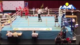 Эдгард Цамбов победил на Чемпионате Европы по боксу в Венгрии. Июнь 2016.