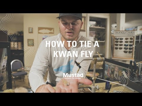 How To Tie A Kwan Fly With Nick Clark | Mustad Fishing