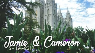 Jamie & Cameron | Salt Lake Temple Wedding