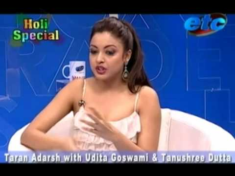 Taran Adarsh with Udita Goswami & Tanushree Dutta