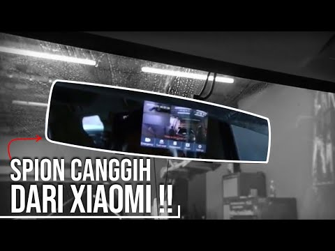 Xiaomi Yi Smart Mirror Dashcam