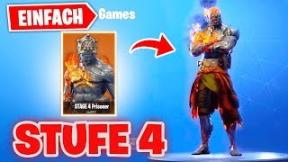 So SCHALTEST DU *STUFE 4* by Prisoner Snowfall Skin FREE! | Fortnite Key Place