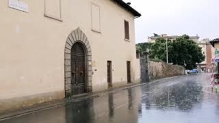 LIVE - Violento temporale su Firenze