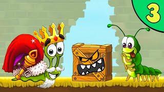 Несносный УЛИТКА БОБ 3. Серия 3. Мультфильм Snail Bob 3 на канале Игрули TV