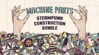 Machine parts bundle - just example of using