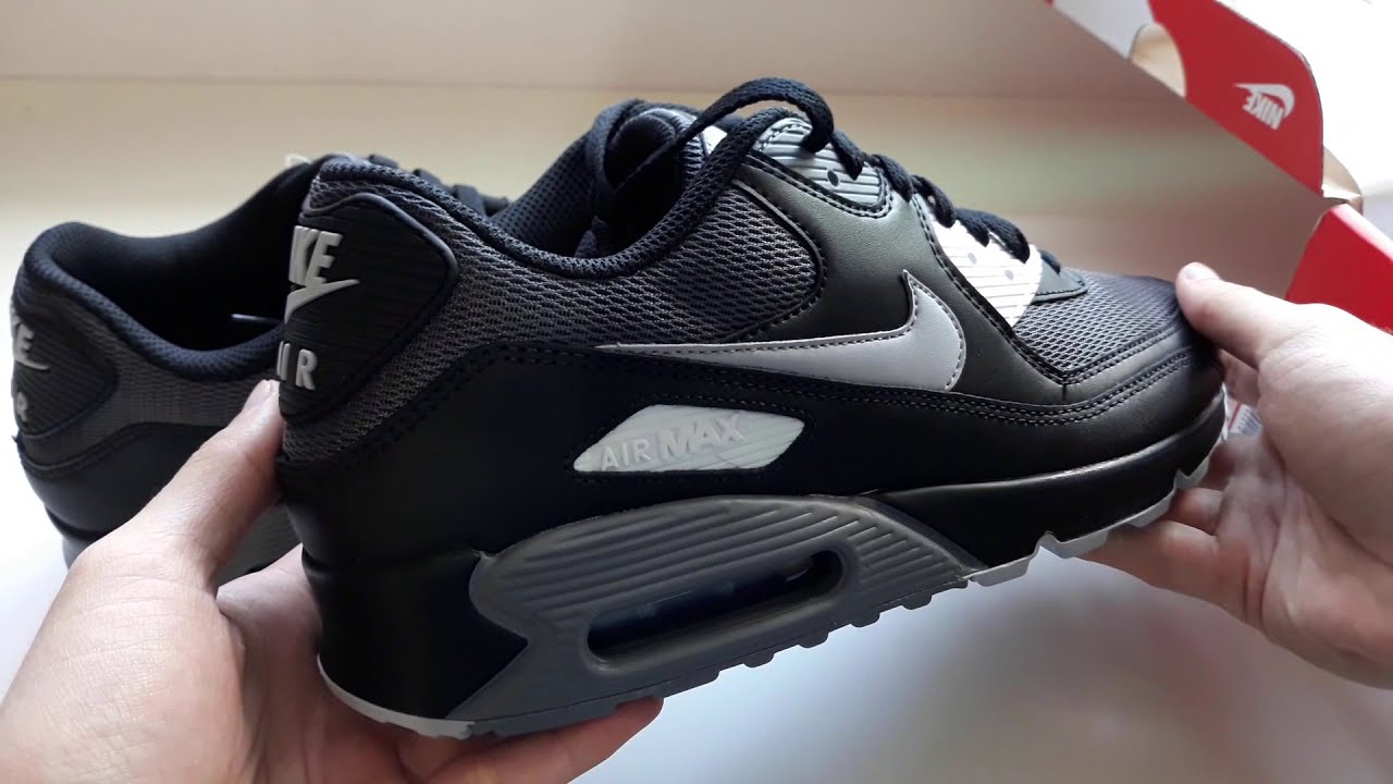 Nike Air Max 90 ESSENTIAL Preto/Cinza (Black/Grey)