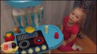 видео Игровая кухня HTI «Zanussi» электронная большая
