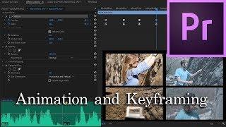 E32 - l'Animation et la création d'images Clés - Adobe Premiere Pro CC 2018