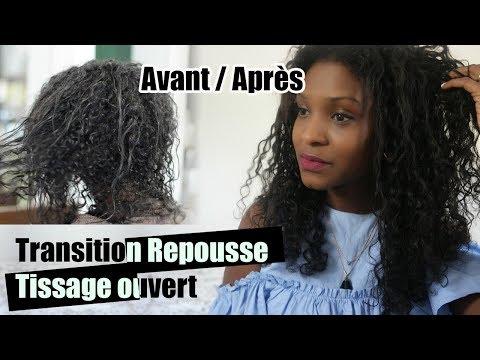 Transition Repousse + Tissage ouvert