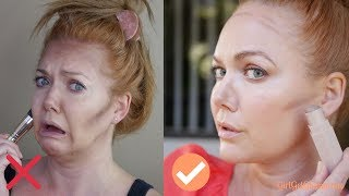 How To Contour | Beginner + Mature Skin Tutorial from a Pro MUA + Best Products (Cream + Powder)