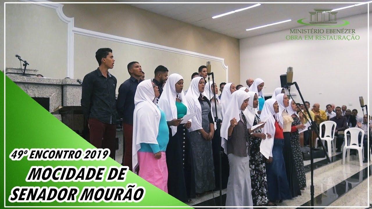 49� Encontro 2019 Irm�os de Senador Mour�o/MG - Culto de s�bado do dia 02.03