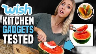 Download Testing KITCHEN GADGETS from WISH... What's ACTUALLY Worth It? Mp3 and Videos