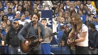 Sundy Best performs My Old Kentucky Home at Rupp Arena