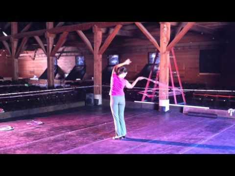 Kansas Carradine Rehearsal for Stars in the Barn