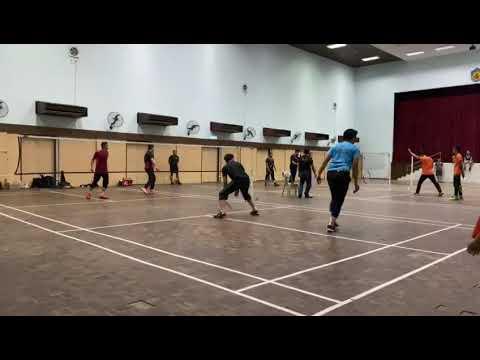 Badminton Friendly Match Away Mazwan & Ajak Vs FBT Keramat (Second Game)