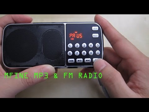 Mfine Multifunctional MP3 Player and FM Radio Review