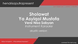 Download Lagu YA ASYIQOL MUSTOFA VERSI SABYAN KARAOKE + LIRIK Mp3