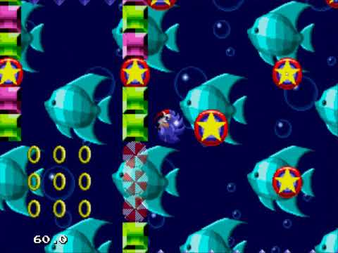 Sonic 1 Dragon Edition: Hydro Base Zone 1-3