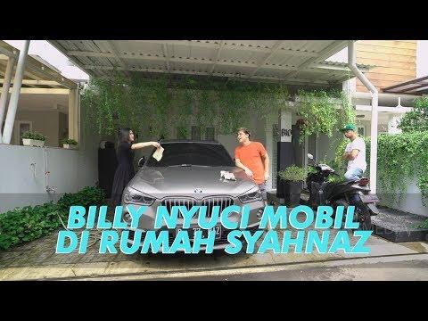 RAFFI BILLY AND FRIENDS - Main ke Rumah Syahnaz, Billy Disuruh Nyuci Mobil (23/6/19) Part 1