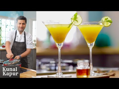 Ginger Ale Squash Home Made | Kunal Kapur Healthy Drinks Recipes | जिंजर एल | Chef Kapoor