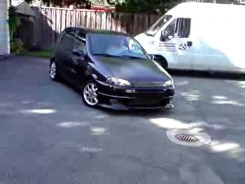 fiat punto 176 tuning youtube. Black Bedroom Furniture Sets. Home Design Ideas