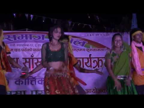Chal Gori Le Jaba Toke Mor Gaau  Tharu Song  Group Dance   Wapsow Com   Copy
