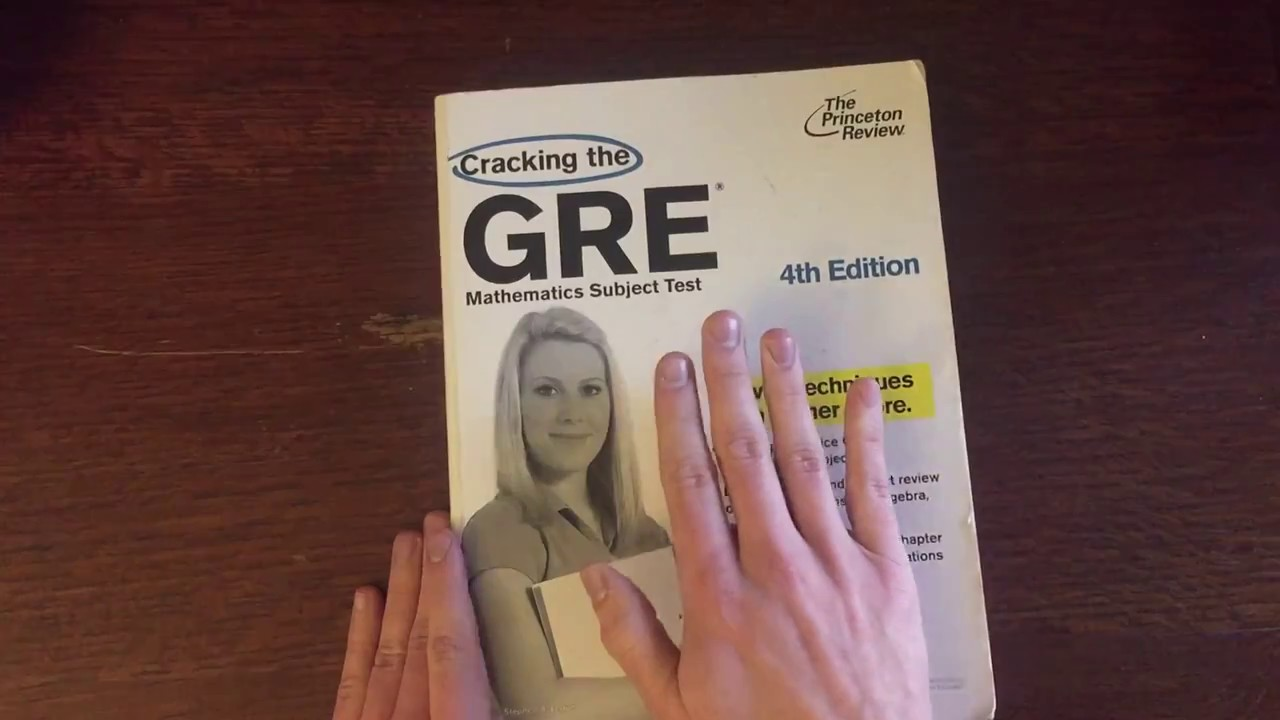 Cracking The Gre Mathematics Subject Test Book Review Youtube
