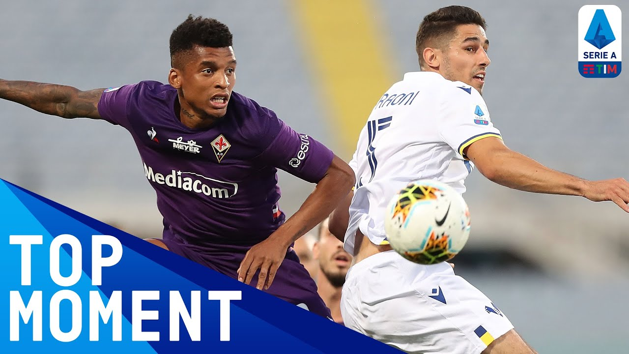 Faraoni Scores One of the Best Goals of the Season! | Fiorentina 1-1 Hellas Verona | Serie A TIM