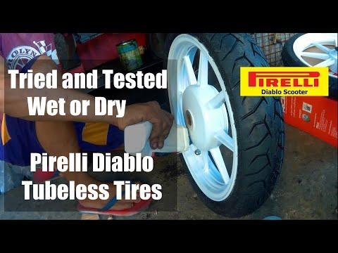 MotoVlog01 Mio I 125 Upgrade For GOOD Tubeless RB8 Mags X Pirelli Diablo