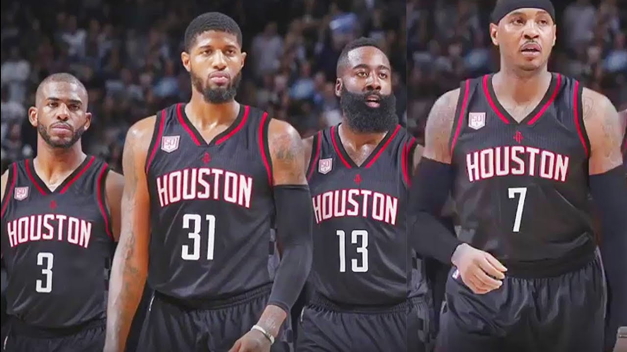 Paul George Carmelo Anthony Trade To Rockets