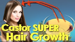 How to mix castor oil for faster growing hair/Hair loss prevention/Castor oil hair growth challenge