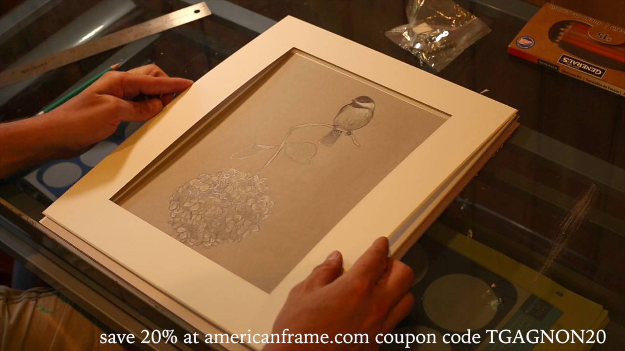 How to frame your prints and drawings with american frame and Tim ...