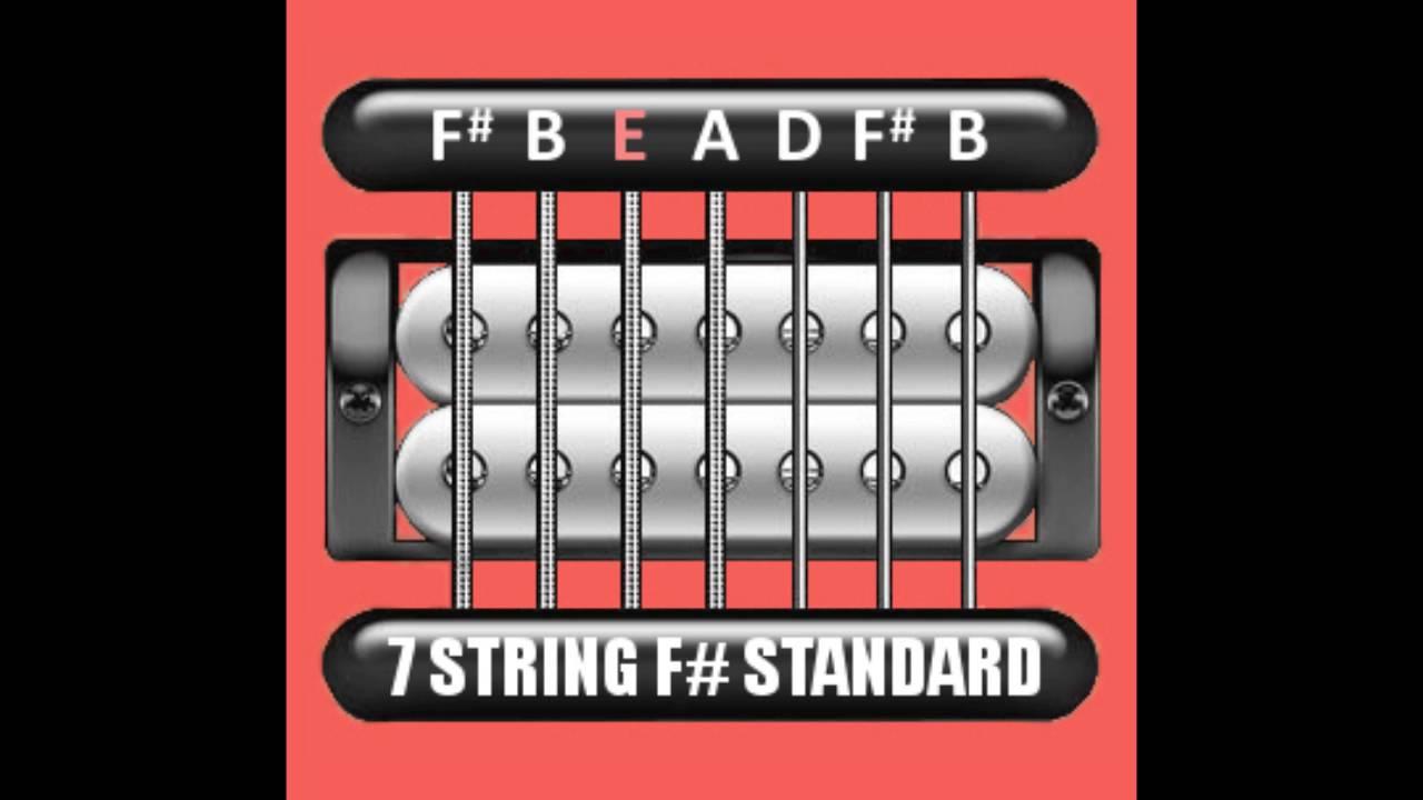 perfect guitar tuner 7 string f gb standard f b e a d f b youtube. Black Bedroom Furniture Sets. Home Design Ideas