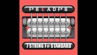 perfect guitar tuner (7 string f# / gb standard = f# b e a d f# b)