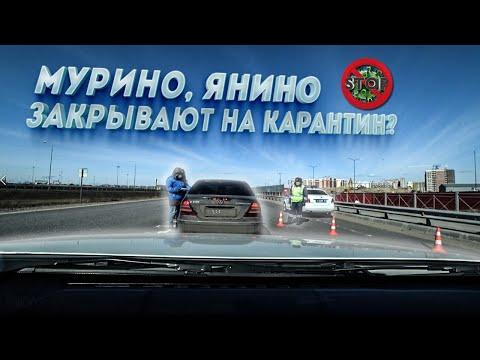 Районы Санкт-Петербурга Мурино, Янино закрывают на въезд и выезд (карантин)?