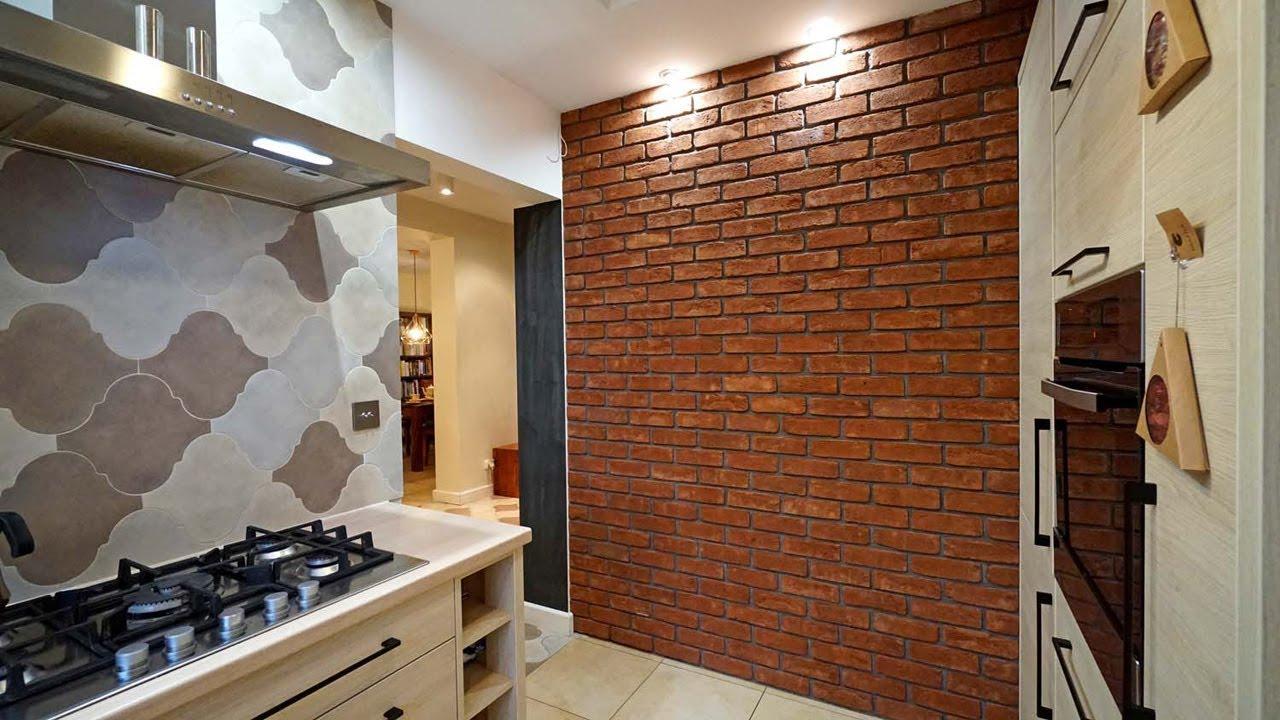 Cegła Na ścianie Aranżacja Mieszkania W Stylu Industrialnym Loftowym Projekt Wnętrz Cegła